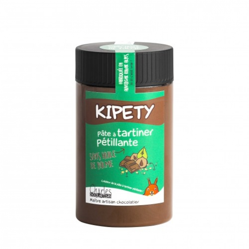 PATE A TARTINER Charles Chocolartisan - OCA des Sables d'Olonne : Kipety 280gr